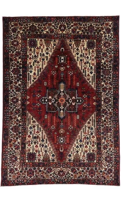7 x 10 Antique Azerbaijan Rug 60928