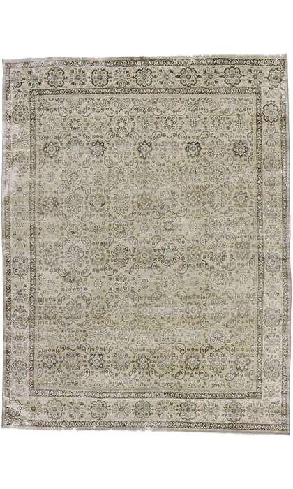 9 x 12 Antique Persian Mahal Rug 60930