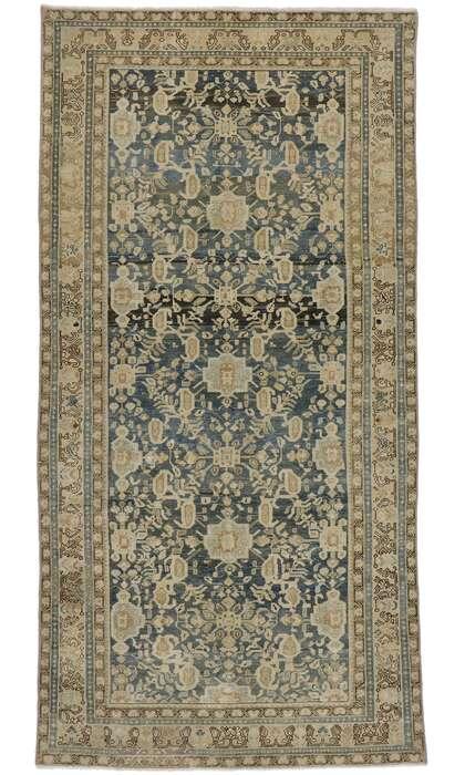 5 x 11 Antique Persian Malayer Rug 60932
