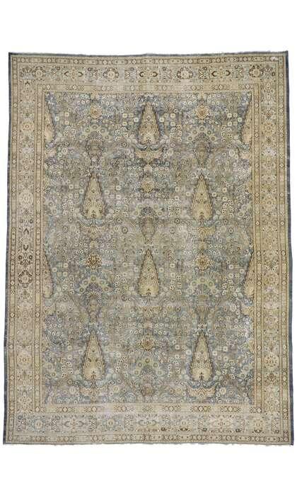 9 x 13 Antique Persian Khorassan Rug 60937