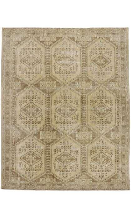 10 x 12 Antique Turkaman Rug 60938