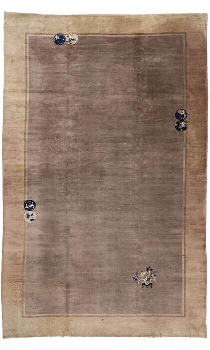 12 x 19 Antique Chinese Peking Rug 78081