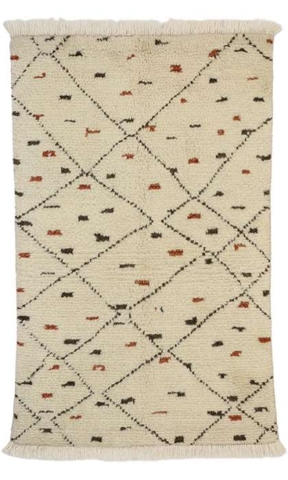 3 x 5 New Moroccan Rug 30310