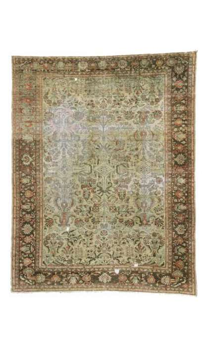 10 x 13 Distressed Lilihan Rug 72824