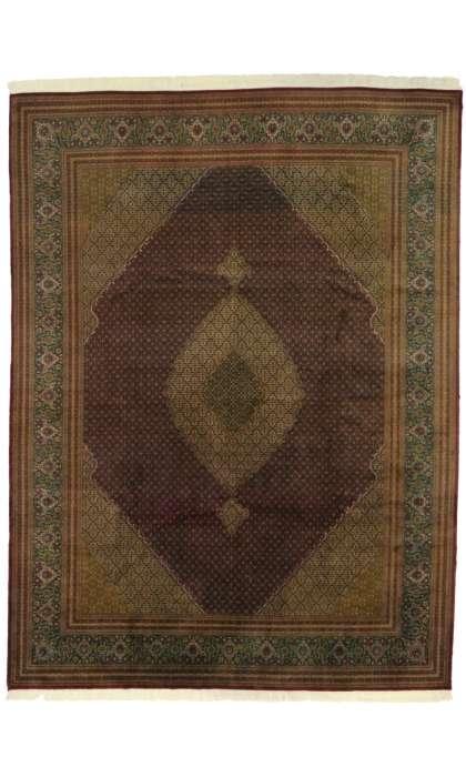 10 x 13 Persian Mahi Fish Design Tabriz 76693