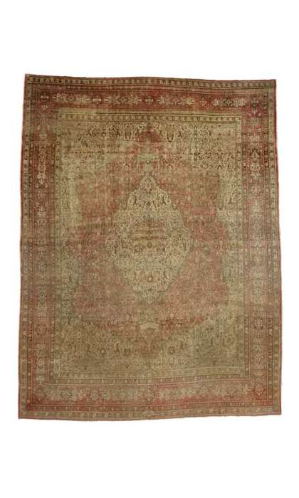 15 x 21 Antique Tabriz Rug 76770
