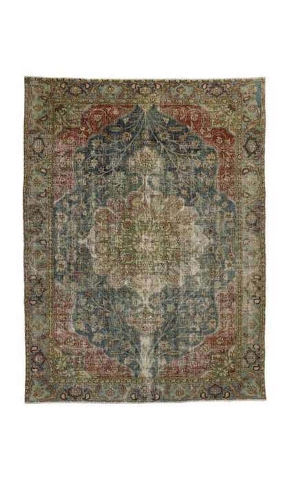 8 x 11 Antique Tabriz Rug 76828