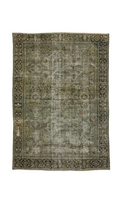 7 x 10 Antique Mahal Rug 76829