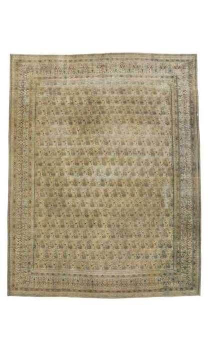 10 x 12 Vintage Kerman Rug 80311