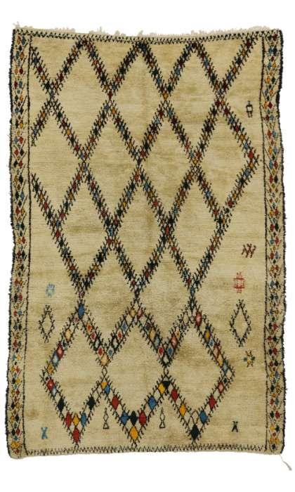 7 x 10 Vintage Moroccan Rug 20348