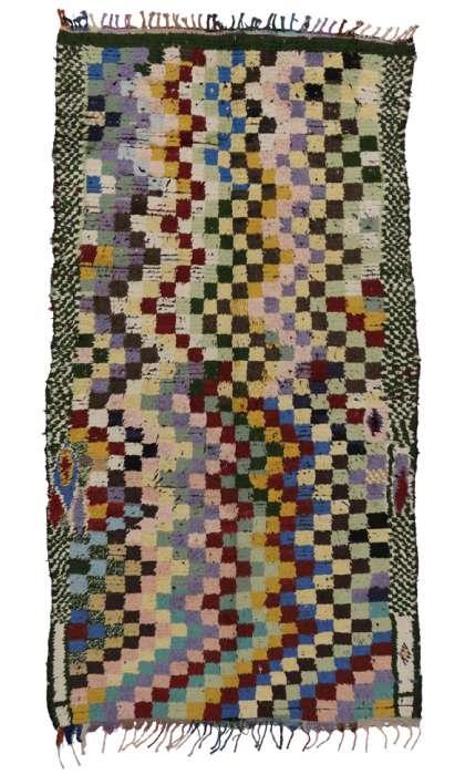 6 x 10 Vintage Moroccan Rug 20350