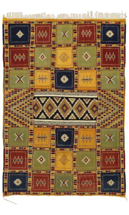 7 x 10 Moroccan Kilim Rug 20351