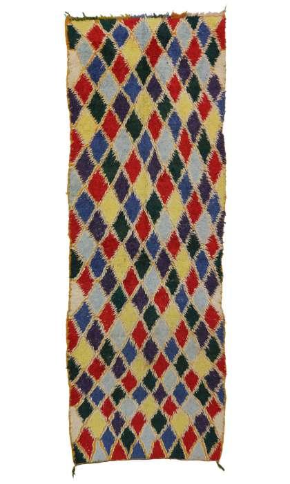 4 x 13 Vintage Moroccan Rug 20360