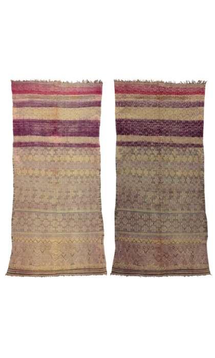 6 x 13 Vintage Moroccan Rug 20361