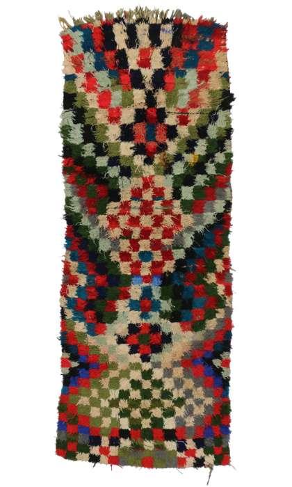 3 x 8 Vintage Moroccan Rug 20381