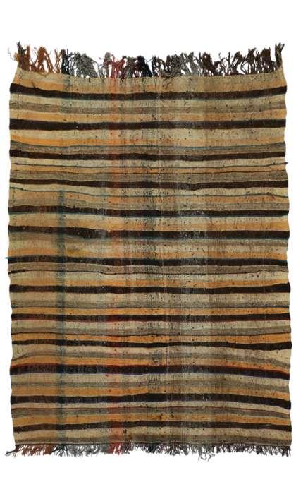 5 x 8 Vintage Moroccan Kilim 20393
