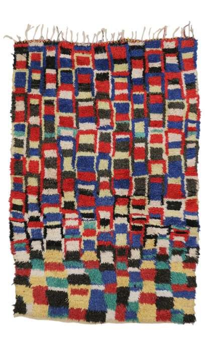 5 x 7 Vintage Moroccan Rug 20405