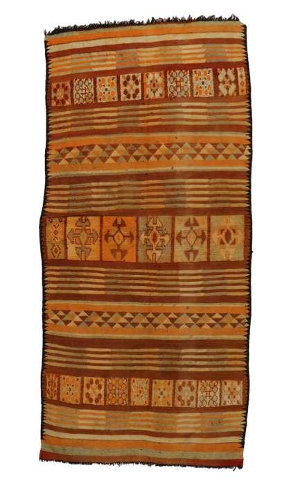 6 x 13 Vintage Moroccan Kilim Rug 20414