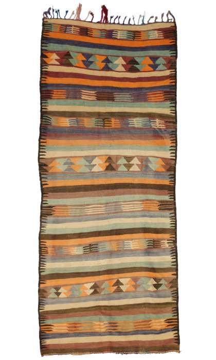 5 x 12 Vintage Moroccan Kilim Rug 20422