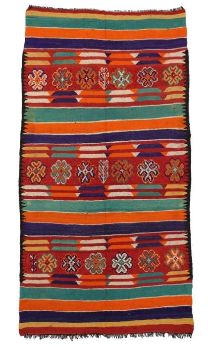 6 x 11 Vintage Moroccan Kilim Rug 20424