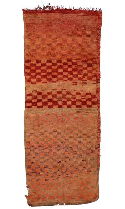 3 x 6 Vintage Moroccan Rug 20453
