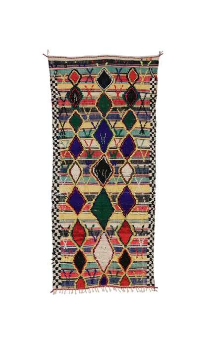 4 x 9 Vintage Moroccan Rug 20476