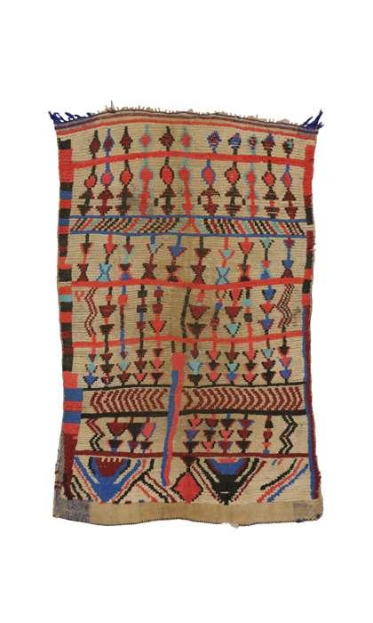 5 x 7 Vintage Moroccan Rug 20487