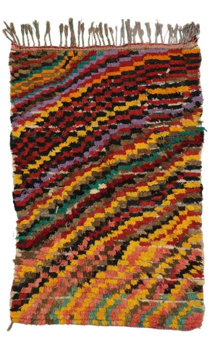 3 x 5 Vintage Moroccan Rug 20507
