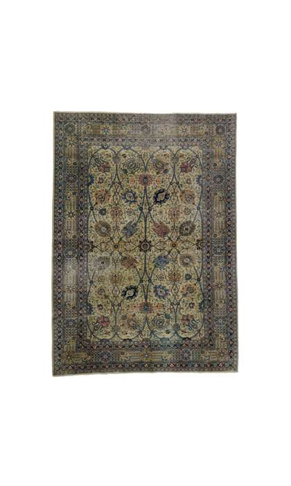 7 x 9 Antique Tabriz Rug 51883