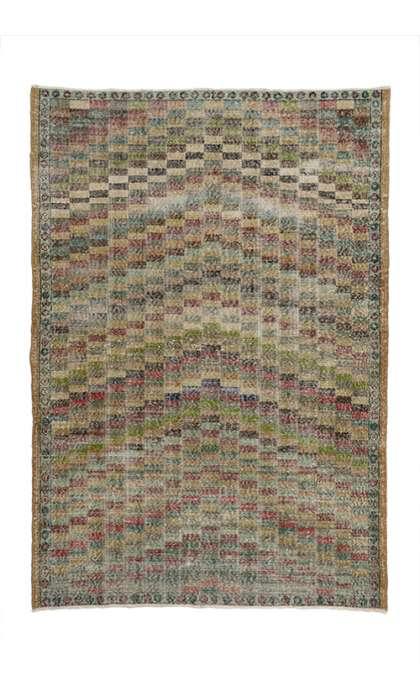 5 x 8 Vintage Sivas Rug 51987