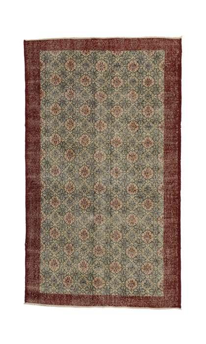 5 x 8 Vintage Sivas Rug 52007