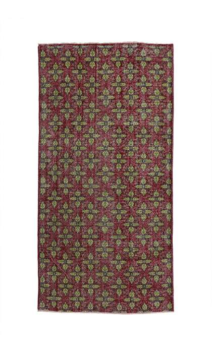 5 x 10 Vintage Sivas Rug 52016