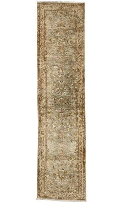 3 x 11 Vintage Indian Rug 76919
