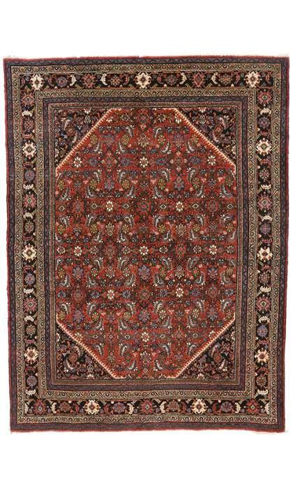 9 x 12 Antique Mahal Rug 76926