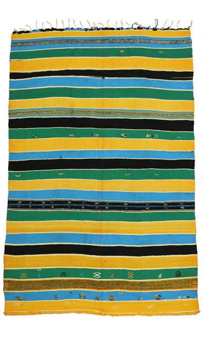 6 x 9 Vintage Kilim Rug 20543