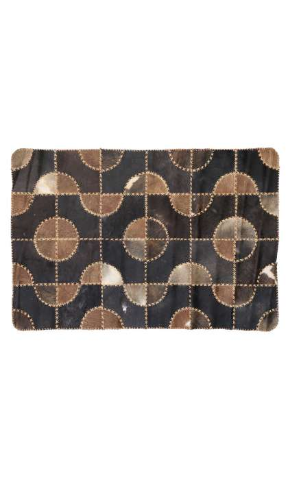 3 x 5 Leather Rug 76987