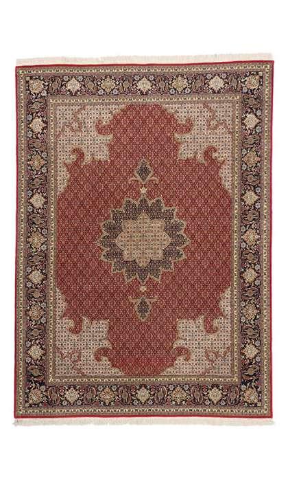 5 x 7 Vintage Tabriz Rug 77001