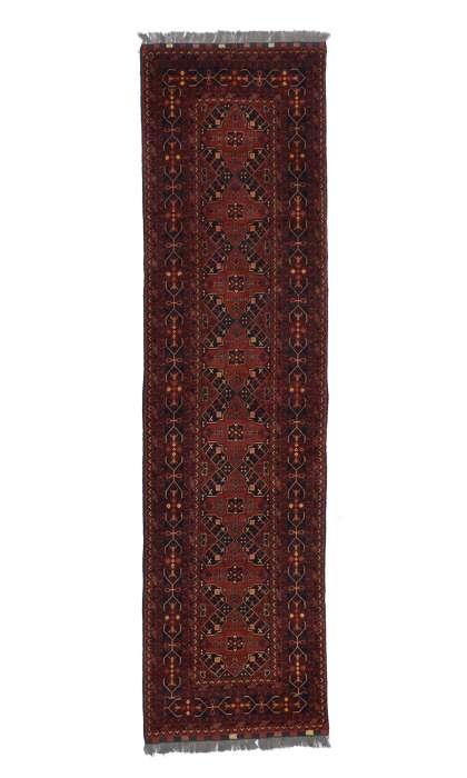 3 x 10 Vintage Afghan Rug 77009