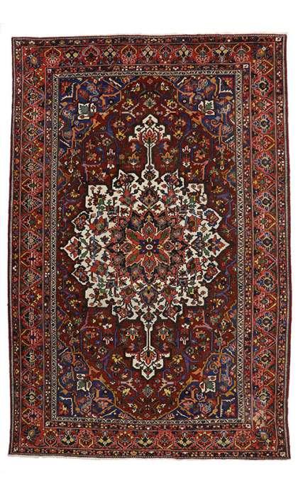 11 x 16 Antique Bakhtiari Rug 77014
