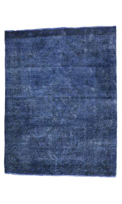 5 x 7 Vintage Overdyed Rug 80418