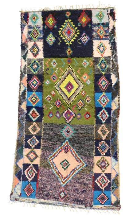 4 x 8 Vintage Moroccan Rug 20622