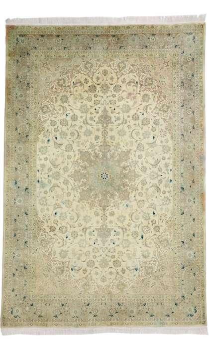 7 x 10 Vintage Tabriz Rug 76976