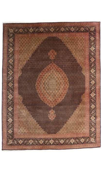 10 x 13 Vintage Tabriz Rug 76980