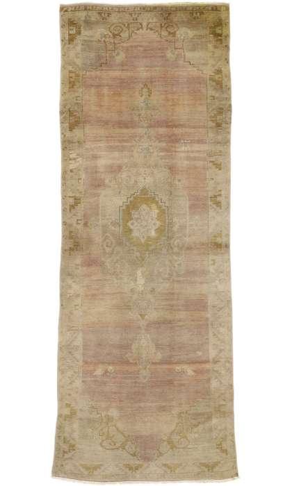4 x 11 Vintage Oushak Rugs 50014