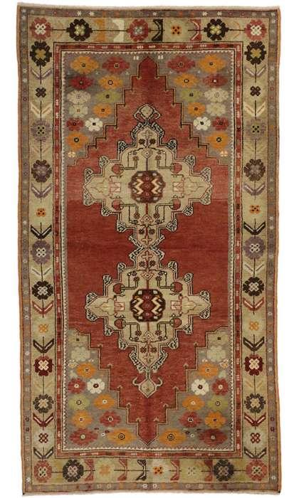 4 x 7 Vintage Oushak Rug 50122