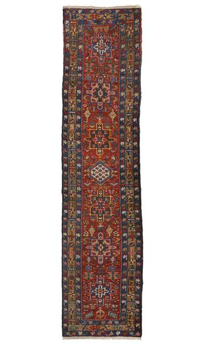 3 x 11 Antique Heriz Rug 77060