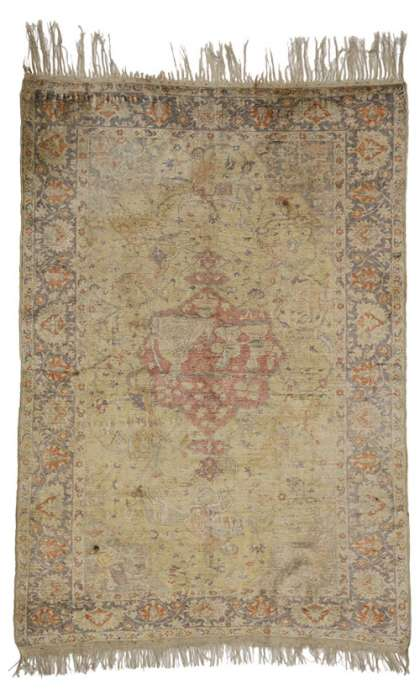 4 x 6 Antique Kayseri Rug 77091