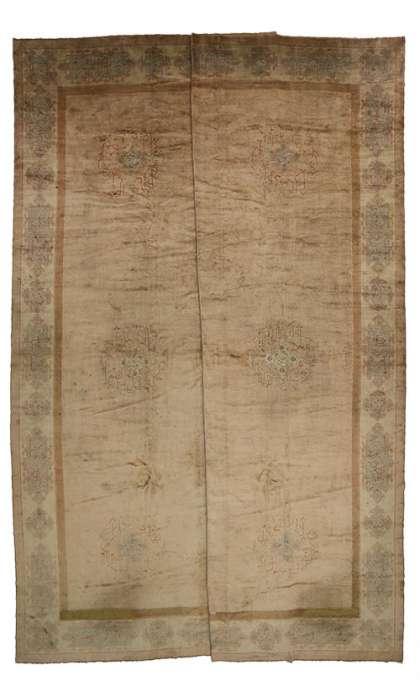 22 x 24 Antique Oushak Rug 77108
