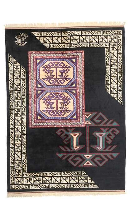 7 x 10 Vintage Oushak Rug 77130