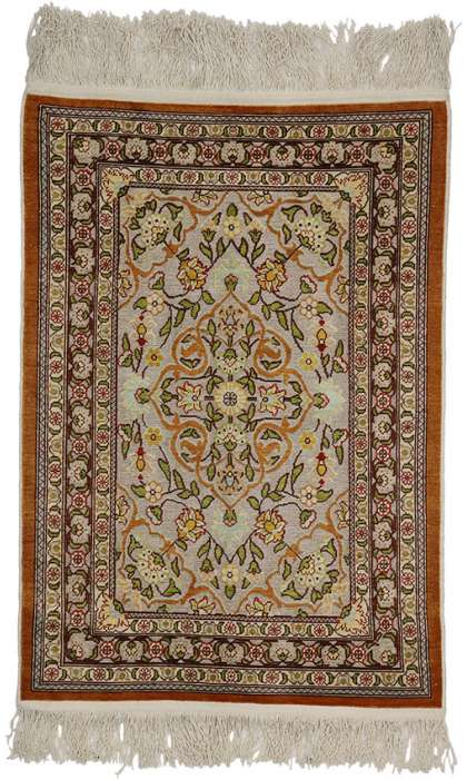 2 x 4 Antique Hereke Rug 77153